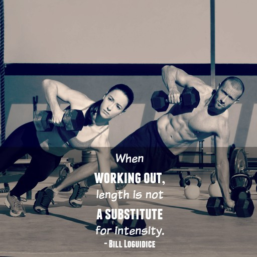 Working Out Length Not a Substitute for Intensity