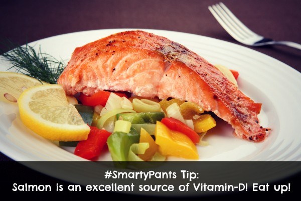 Salmon is a Great Source of Natural Vitamin D