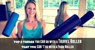 Travel Roller vs Foam Roller Review - what's better?