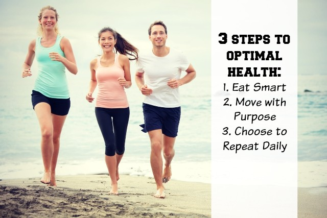 3 steps to achieve optimal health