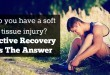 Do you have a soft tissue injury? Active Recovery Is The Answer
