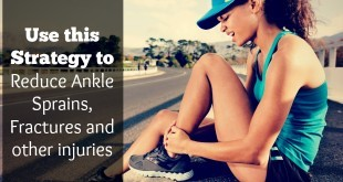 Use this Strategy to Reduce Ankle Sprains, Fractures and other injuries