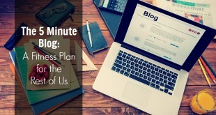 start blogging in 5 minutes