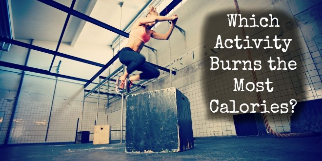 what machine burns the most calories