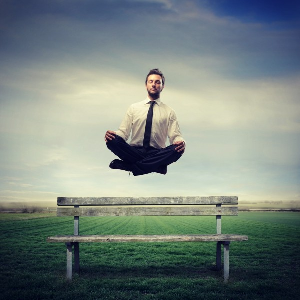 ohm meditation floating yogi