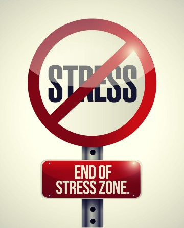 "Welcome to the ""No Stress"" zone"