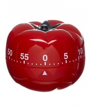 The Pomodoro Timer... cute isn't it?