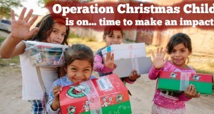 Operation Christmas Child is on time to make an impact!