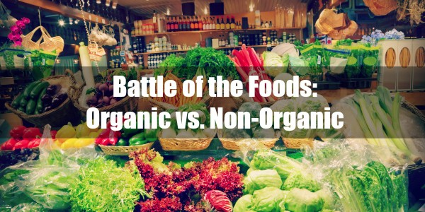 The difference between organic and conventional foods