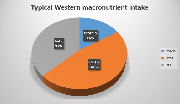 north american macro nutrient intake