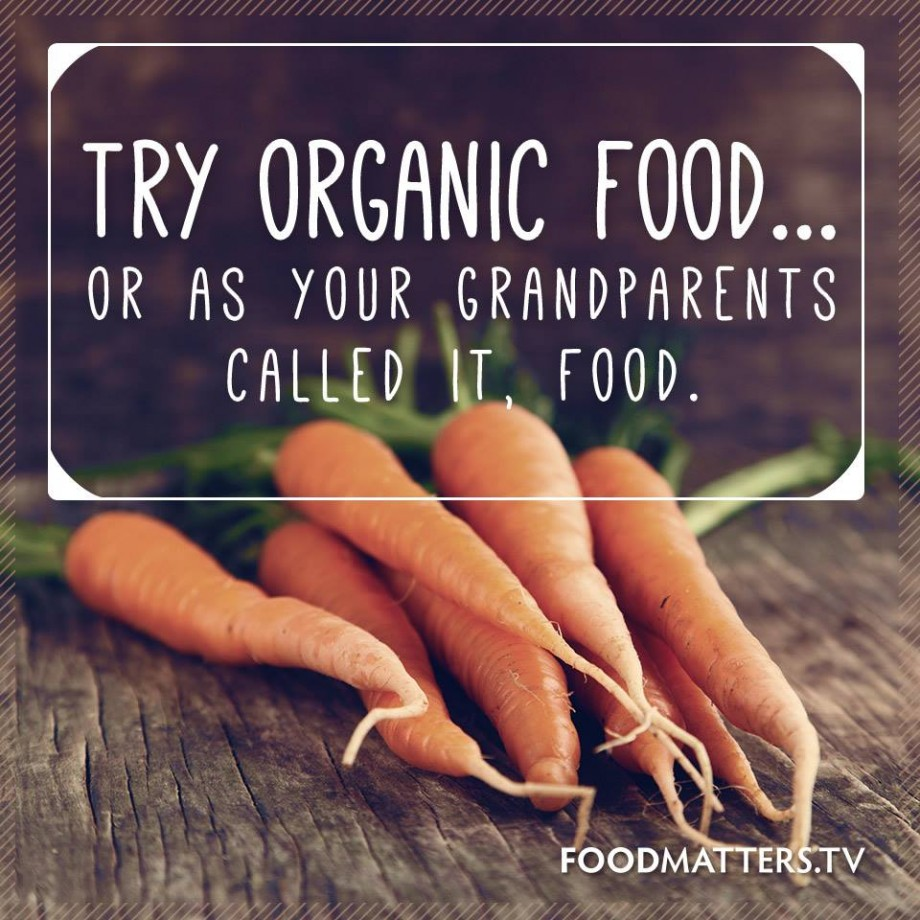 Reasons For Buying Organic Food