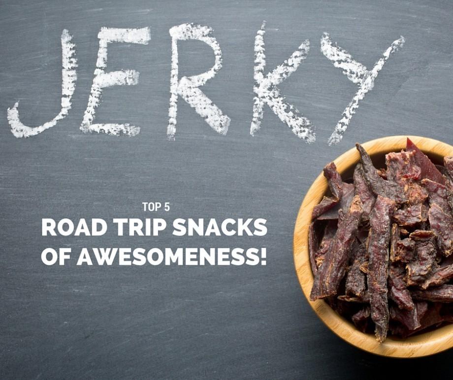 Beef jerky road trip snacks best of