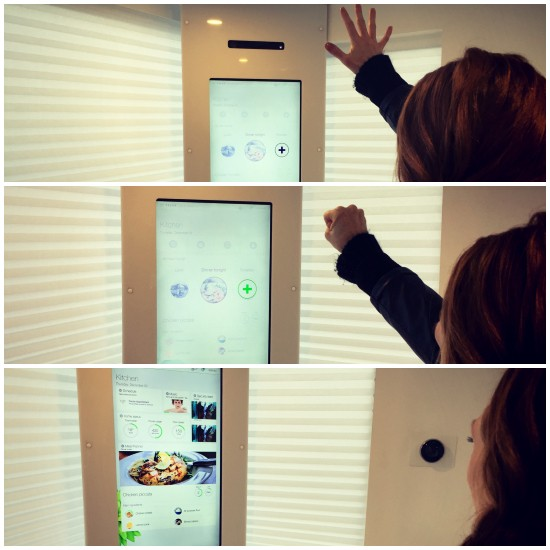 Interactive Meal planner Telus Smart Kitchen