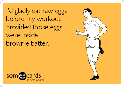 There's better ways to get pre-workout energy. #JustSaying
