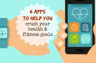 6 Apps to help you crush your health and fitness goals