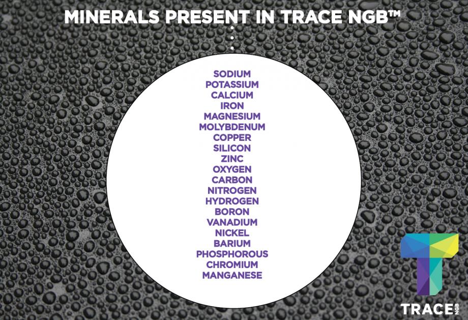 TRACE Alkaline Black Water Minerals