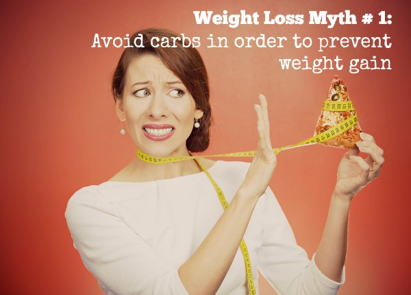 weight loss myth about carbs