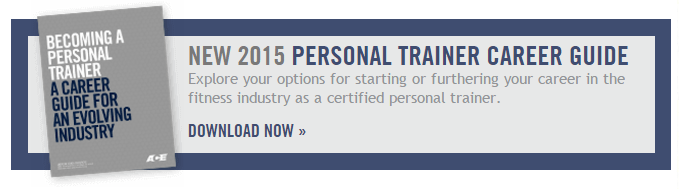 Get your ACE personal trainer career guide
