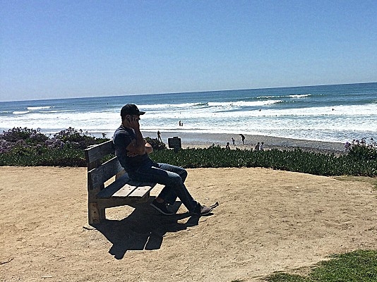 Just another day at the office (Encinitas, California)