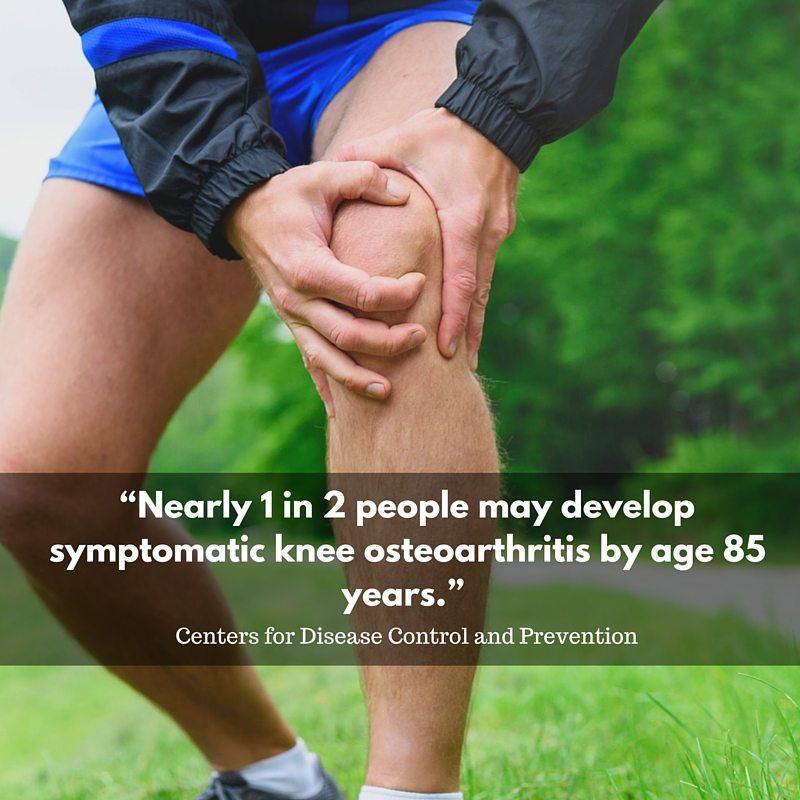 Lifetime risk of symptomatic osteoarthritis (OA)