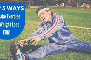 Top 5 Ways to make weight loss fun