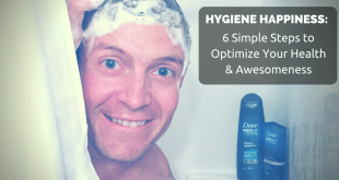 hygiene happiness with Dove Men+Care