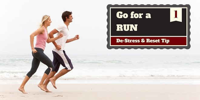 destress tip - go run