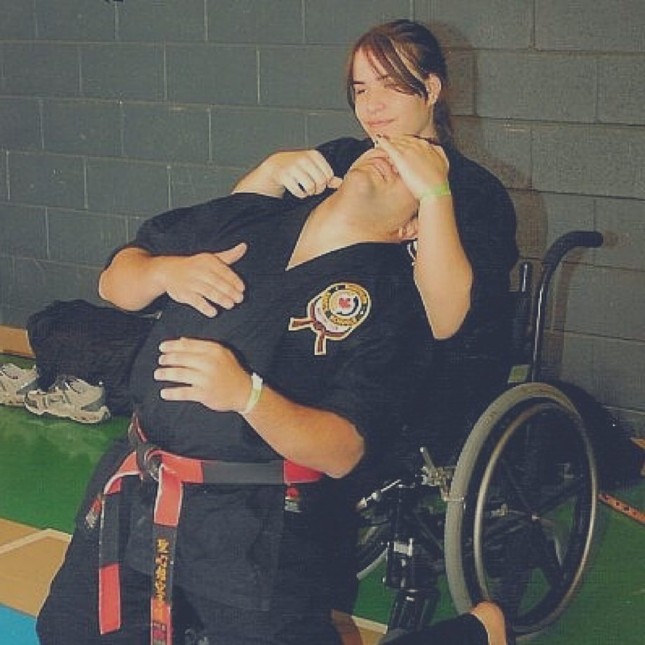 Jenna Reed-Cote Blackbelt