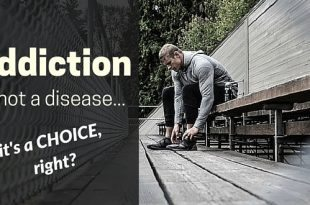 addiction is not a disease its a choice #addictionfreelife