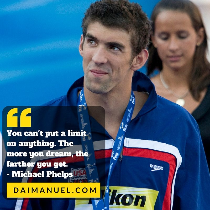 michael phelps quote