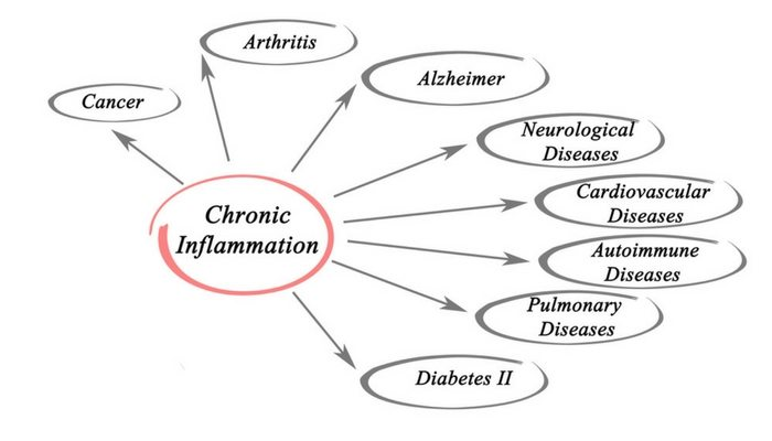 Chronic Inflammation and linked diseases