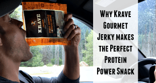 Krave Gourmet Jerky Protein Power Snack