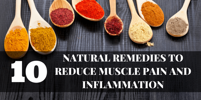 supplements for muscle pain and inflammation