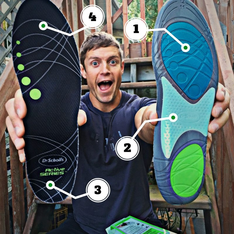 awesome features of active insoles dr scholls