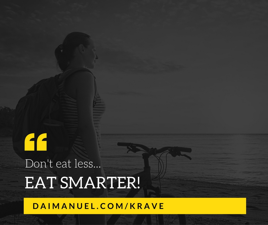 dont eat less eat smarter
