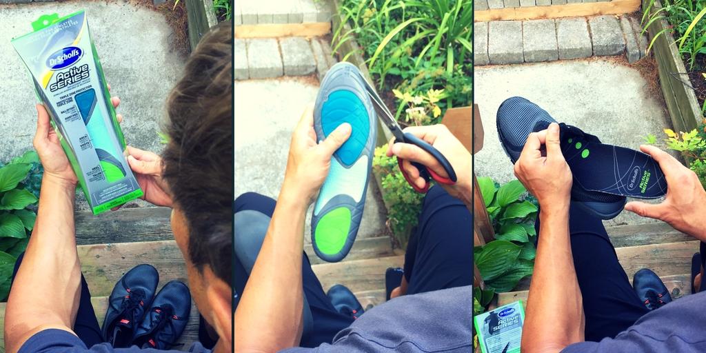 dr scholls insert active soles into shoes