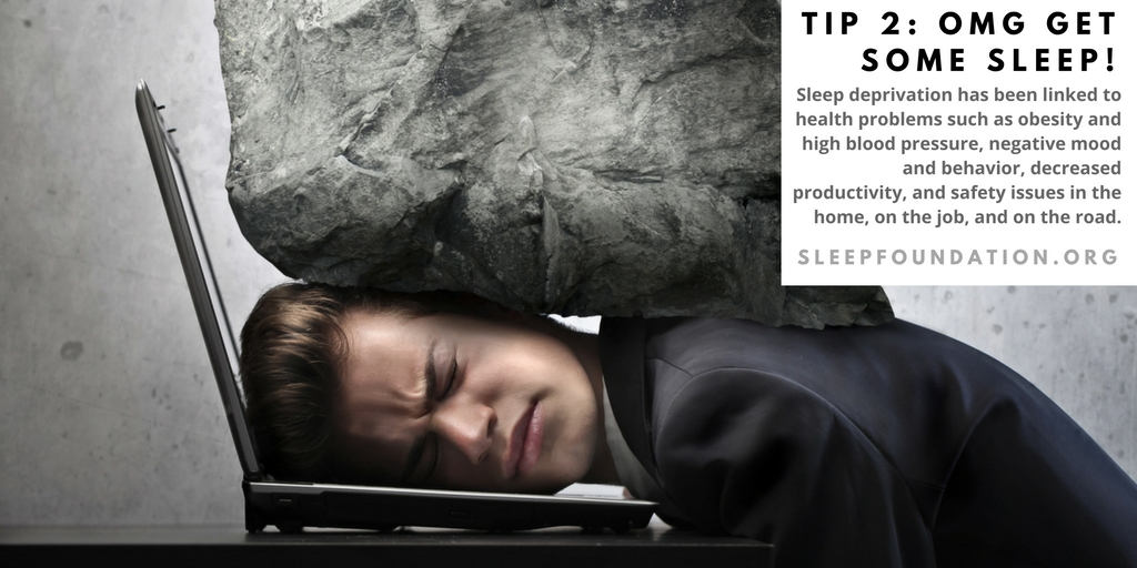 get some sleep for your health