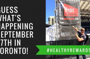 Join me on September 27 in Toronto for #HealthyRewards