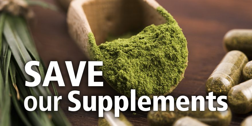 A Call to Canadians to Save Our Supplements before it's too late