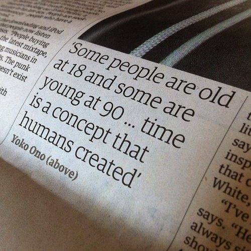 time-is-a-concept-that-humans-created-yoko-ono-quote