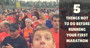 5 things not to do before running your first marathon #vibefitness #vibeisrael