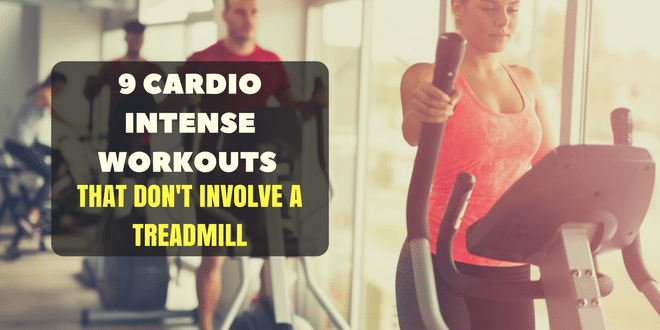 9 Cardio Intense Workouts that Don't Involve a Treadmill
