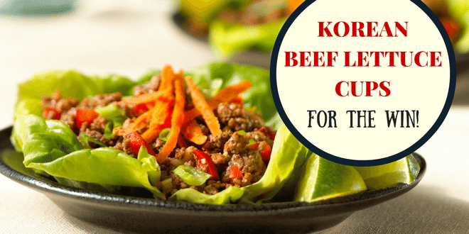 korean beef lettuce cup recipe beef advantage