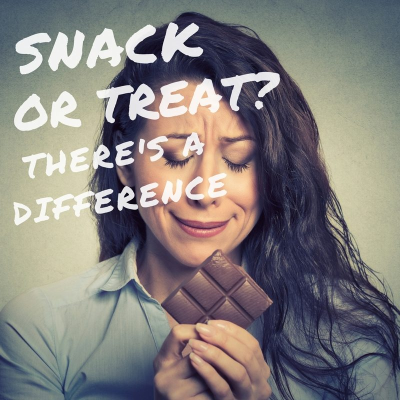 snack or treat there is a difference