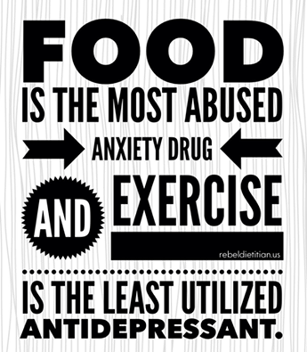 food is most abused anxiety drug