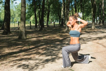 You can do body-weight movements anywhere! Park included!