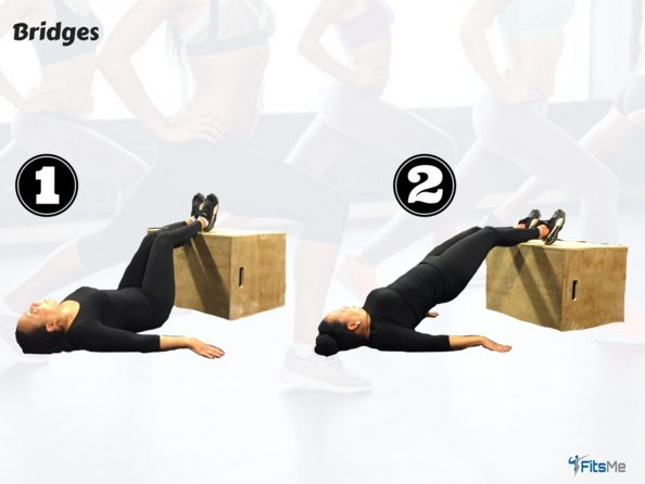 How to do a bridge - the booty workout