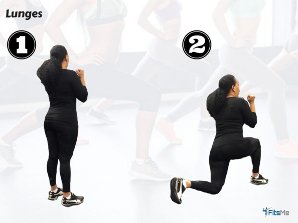 How to do a lunge - the Booty workout