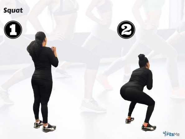 The Squat - Booty Workout