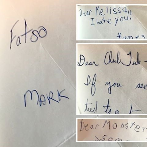 Thank you for calling me Fatso - Letters to Melissa